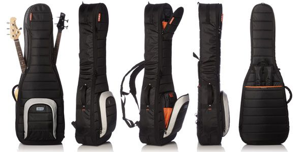 MONO CASE [即納可]M80 2B-BLK Electric Bass Case [エレキベース2本用ケース]